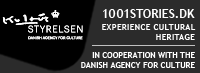 Heritage Agency of Denmark, 1001stories.dk, In cooperation with eu2012.dk