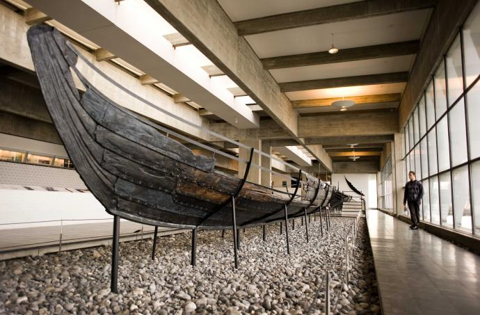 Havhingsten, det oprindelige skib