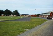 Sportspladsen set mod Hovedvagten