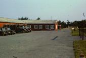 Almegårds Kaserne. Indkvartering