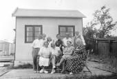 Tre generationer i sommerhus
