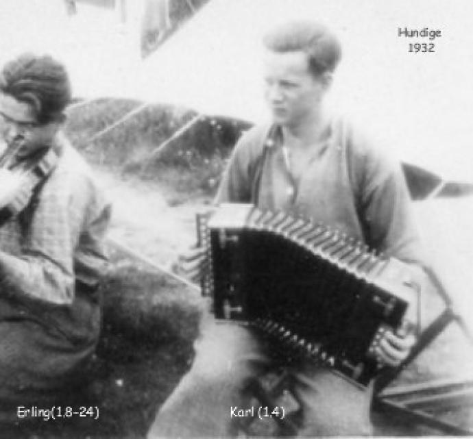 Lejrliv i Hundige 1930 erne