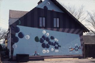 De malede husgavle i Brande, bobler