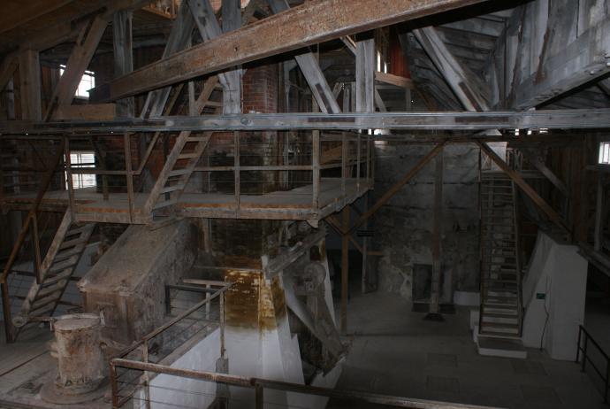 Mønsted Kalkværk indre