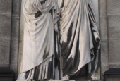 Relief depicting Ottlia and Carl Jacobsen