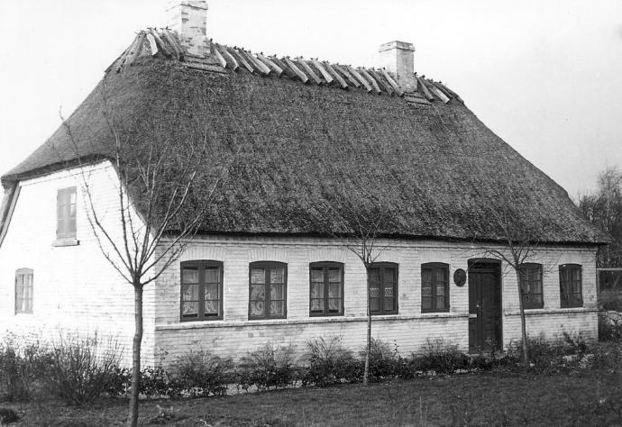 Anne Marie Carl-Nielsen og Carl Nielsen i København.