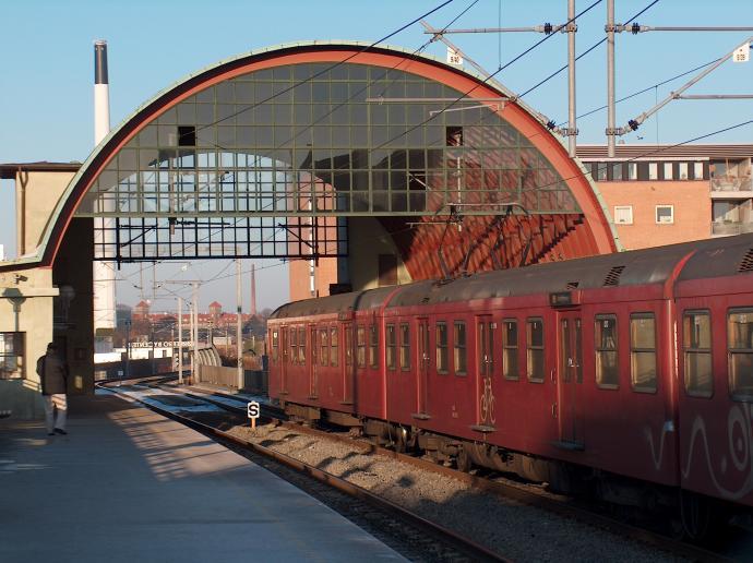Nørrebro Station tog