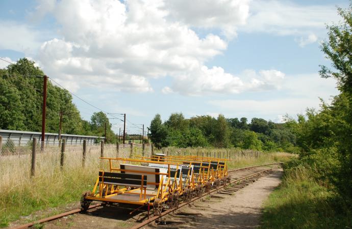 Assensbanen, skinnecykler