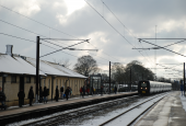Jernbanestrækning København Korsør, Borup