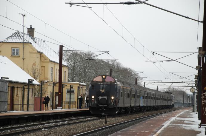Jernbanestrækning København Korsør, Viby