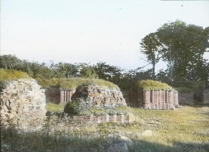 Vitskøl Kloster ruinerne af kloster