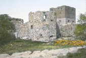 Hammershus manteltårnet