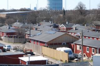 Svenskehusene ved Ellebjerg