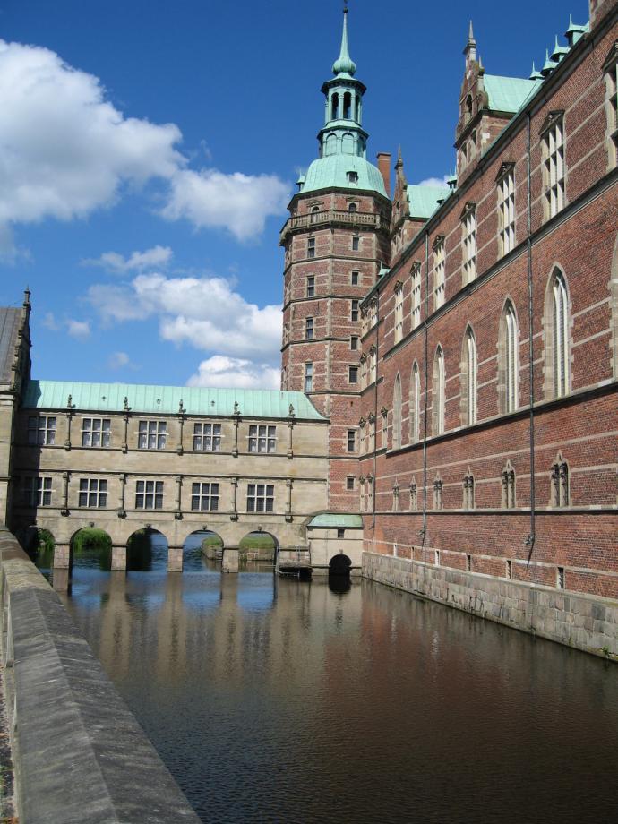 Voldgrav ved Frederiksborg slot