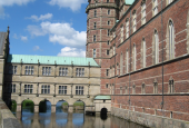 Voldgrav ved Frederiksborg slot