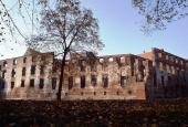Syd- og vestfløjen som ruin