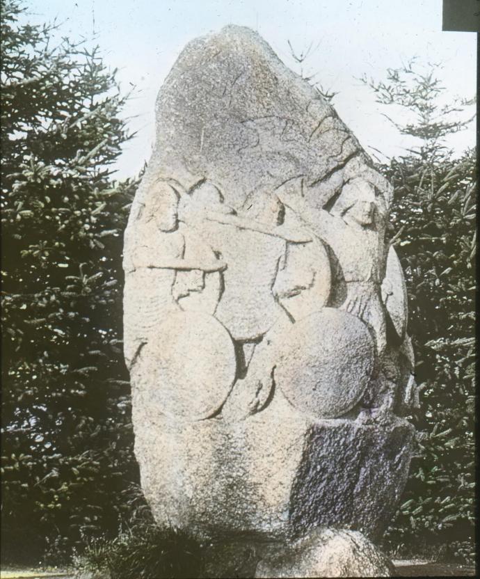 Skibelund Krat sten