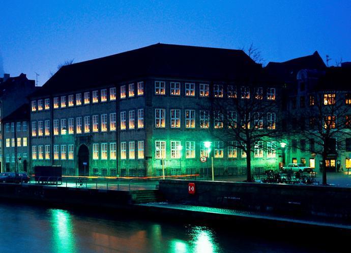 Kulturministeriet by night
