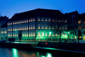 Kulturministeriet by night