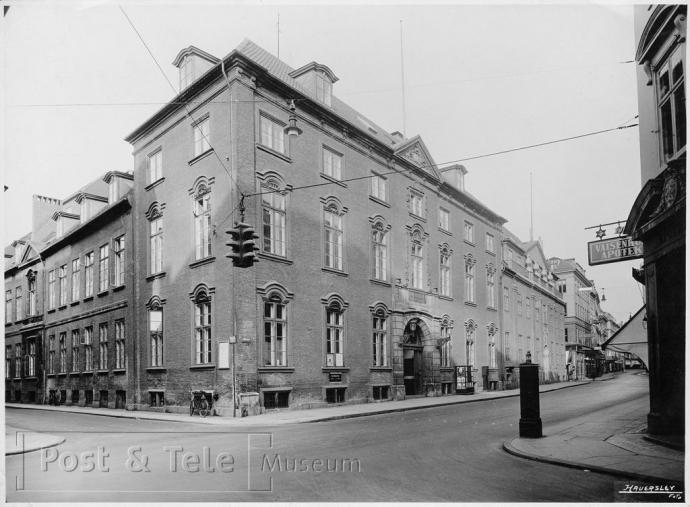 Postgård og Hovedtelegrafstation i Købmagergade