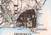 Kort over Frederic