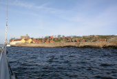 Christiansø set fra havet