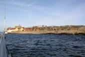 Christiansø set fra havet