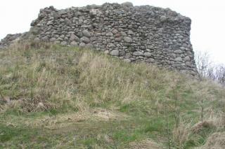 Bastruptårnet set fra siden