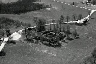 Luftfoto af Gurre