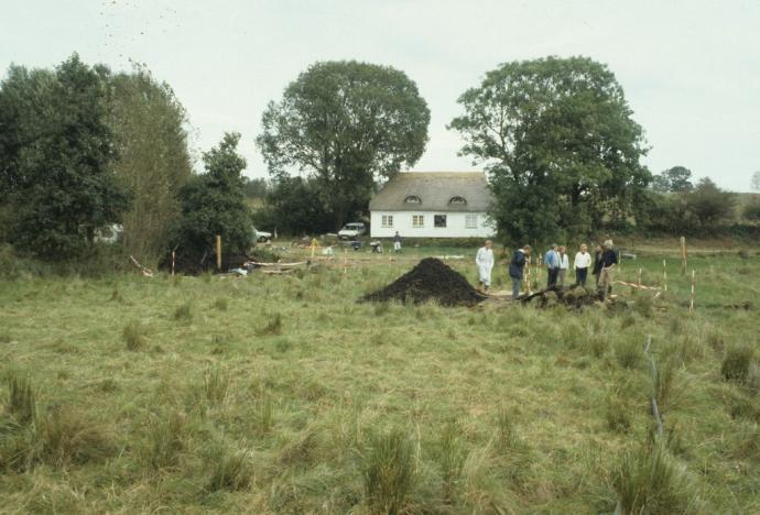 udgravning i Nydam