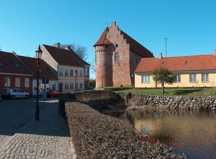 Nyborg Slot set fra afstand