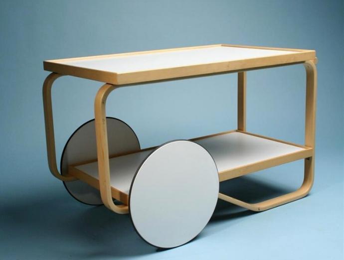 Alvar Aalto's tea trolley 901