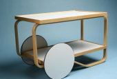 Alvar Aalto&#039;s tea trolley 901