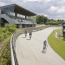 [ Aarhus bicycle-racing track]