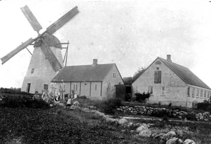 Årsdale Mølle før moderniseringen i 1919