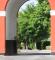 Porten i Adlerhus - indgangen til Hindsgavl
