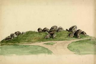 Akvarel af Aldersro