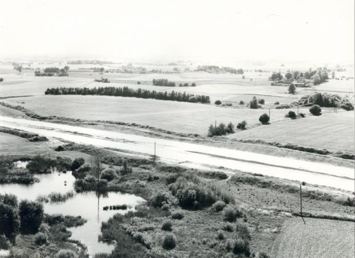 Helsingørmotorvejen fra nordøst
