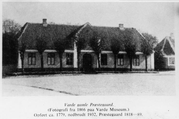 Den gamle præstegård i Varde