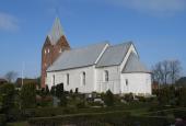 Ballum Kirkegård, kirke