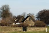 Landarbejderhuse, gavle