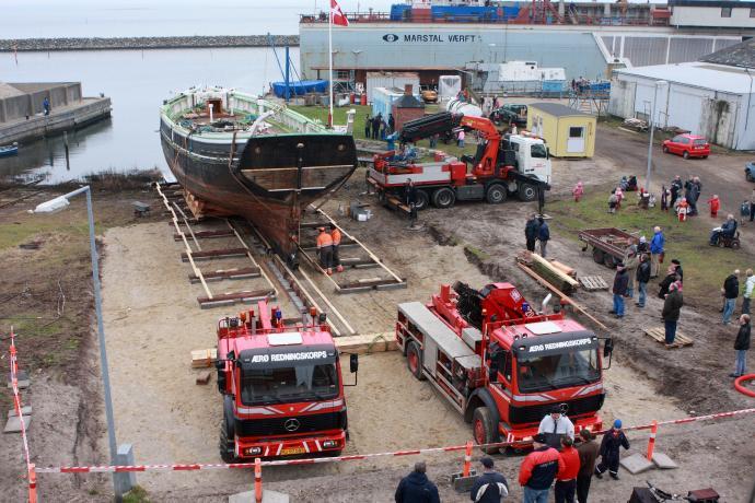 BONAVISTA kommer på land, 2008.