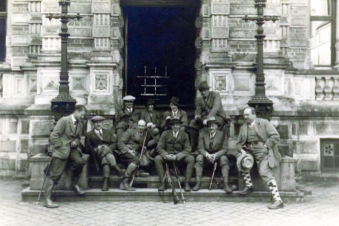 Jagtbillede fra Frijsenborg