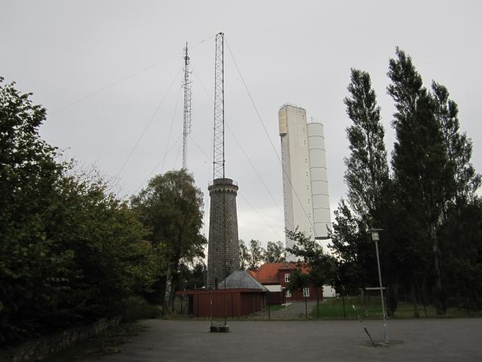 Forsvarets Efterretningstjenestes aflytnings- og pejlestation ved det gamle Dueodde fyr