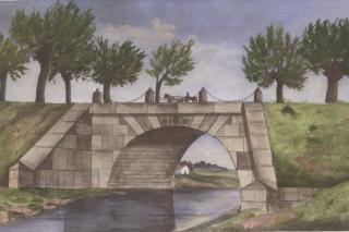 Jelle Bro på kongevejen ved Niverød