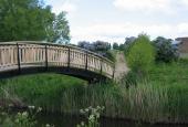 Den nye gangbro i Brobyværk