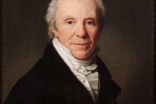 C.F. Hansen, portræt malet af F.C. Gröger