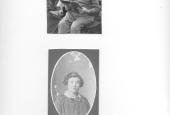 Christian og oldebarn Rasmus samt Kristine Fredberg før 1918
