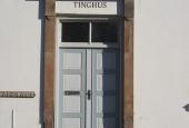 Høng Ting- og Arresthus, indgang