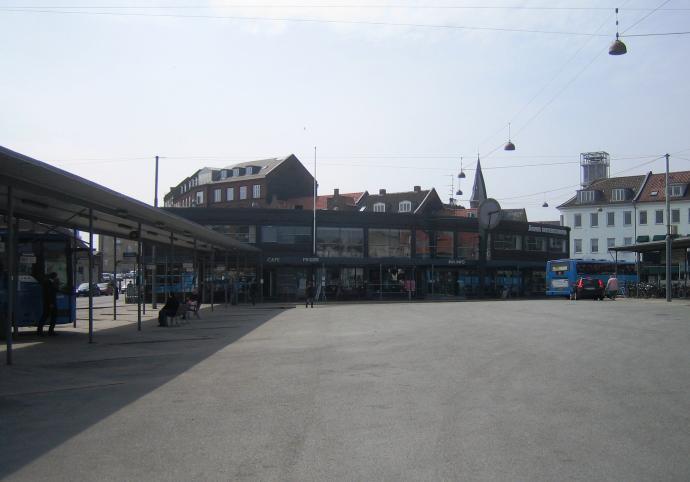 Rutebilstationen I århus 1001 Fortællinger Om Danmark